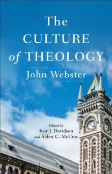 The Culture of Theology, EPUB eBook