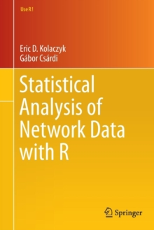Statistical Analysis of Network Data With R, Paperback Book