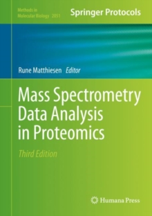 Mass Spectrometry Data Analysis in Proteomics, Hardback Book