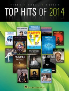 Top Hits Of 2014 : PVG Songbook, Paperback Book