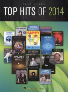 Top Hits Of 2014 : Easy Piano Songbook, Paperback Book