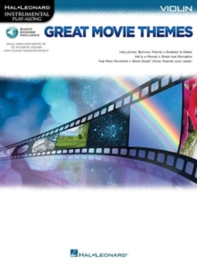 Instrumental Play-Along : Great Movie Themes - Violin (Book/Online Audio), Paperback Book