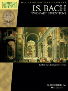 J.S. Bach : Two Part Inventions (Schirmer Performance Editions), Paperback Book