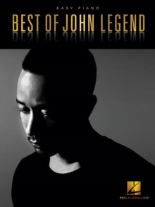 Best Of John Legend (Easy Piano), Paperback Book