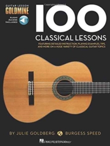 Guitar Lesson Goldmine : 100 Classical Lessons (Book/Online Audio), Paperback Book
