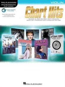 Instrumental Play-Along : Chart Hits - Violin (Book/Online Audio), Paperback Book