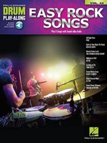 Drum Play-Along Volume 42 : Easy Rock Songs (Book/Online Audio), Paperback / softback Book