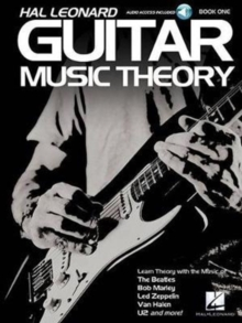 Hal Leonard Guitar Music Theory, Paperback Book