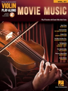 Violin Play-Along Volume 57 : Movie Music (Book/Online Audio), Paperback Book