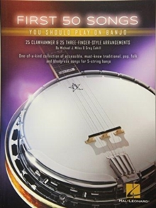 First 50 Songs You Should Play On Banjo, Paperback / softback Book