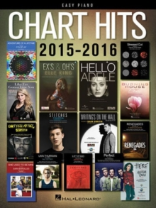 Chart Hits Of 2015-2016, Paperback Book