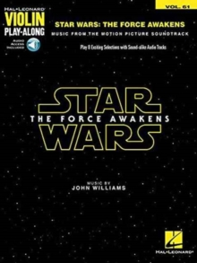 Violin Play-Along Volume 61 : Star Wars - The Force Awakens (Book/Online Audio), Paperback Book