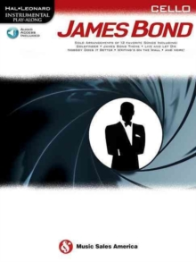 Hal Leonard Instrumental Play-Along : James Bond - Cello (Book/Online Audio), Paperback Book