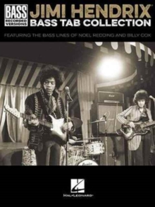 Jimi Hendrix Bass Tab Collection - Bass Recorded Versions, Paperback Book
