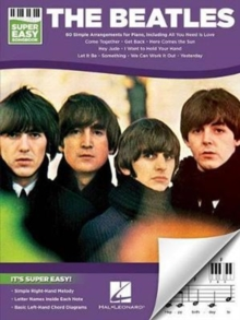 The Beatles : Super Easy Songbook, Paperback / softback Book