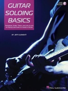 Jeff Clementi : Guitar Soloing Basics, Paperback Book