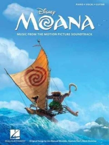 Moana : Music from the Motion Picture Soundtrack: Piano-Vocal-Guitar, Paperback Book