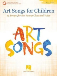 Art Songs For Children (Book/Audio), Paperback Book