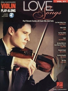 Love Songs : Violin Play-Along Volume 67, Paperback / softback Book