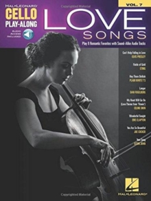 Love Songs : Cello Play-Along Volume 7, Book Book