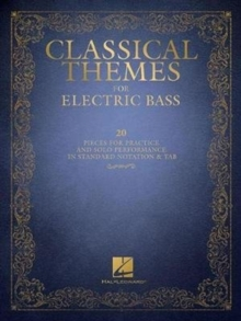 Classical Themes For Electric Bass, Paperback Book