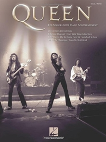 Queen : For Singers With Piano Accompaniment, Paperback / softback Book