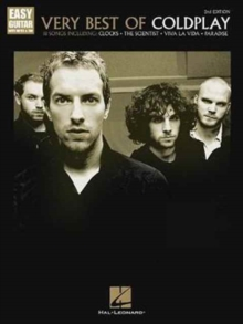 Very Best Of Coldplay 2nd Edition Easy Guitar, Paperback Book