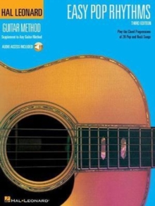 Hal Leonard Guitar Method : Easy Pop Rhythms Third Edition (Book/Online Audio), Paperback Book