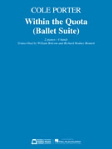 WITHIN THE QUOTA BALLET SUITE, Paperback Book