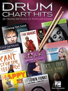 Drum Chart Hits : 30 Transcriptions of Popular Songs, Book Book