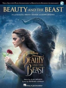 Beauty & The Beast Vocal Solo With Piano Accompaniment, Paperback Book