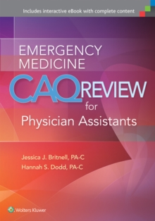 Emergency Medicine CAQ Review for Physician Assistants, Paperback Book