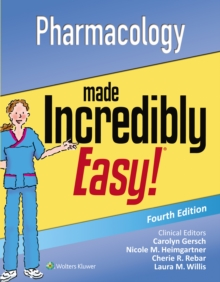Pharmacology Made Incredibly Easy, Paperback / softback Book
