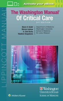 The Washington Manual of Critical Care, Paperback / softback Book