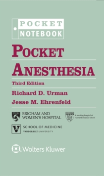 Pocket Anesthesia, Spiral bound Book