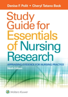 Study Guide for Essentials of Nursing Research, Paperback / softback Book