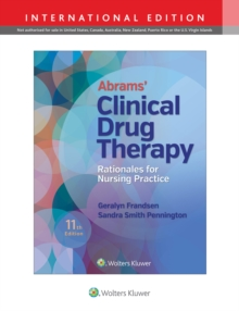 Abrams' Clinical Drug Therapy, Paperback Book