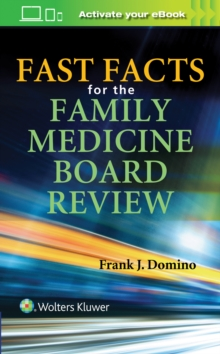 Fast Facts for the Family Medicine Board Review, Paperback Book
