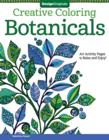 Creative Coloring Botanicals, Paperback Book