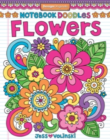 Notebook Doodles Flowers : Coloring & Activity Book, Paperback / softback Book