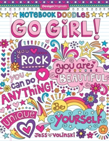 Notebook Doodles Go Girl! : Coloring & Activity Book, Paperback / softback Book