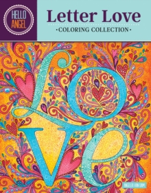 Hello Angel Letter Love Coloring Collection, Paperback Book
