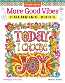 More Good Vibes Coloring Book, Paperback / softback Book