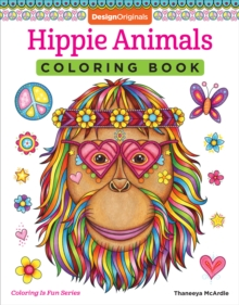 Hippie Animals Coloring Book, Paperback / softback Book