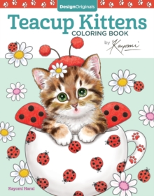 Teacup Kittens Coloring Book, Paperback Book