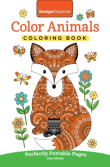 Color Animals Coloring Book : Perfectly Portable Pages, Paperback Book
