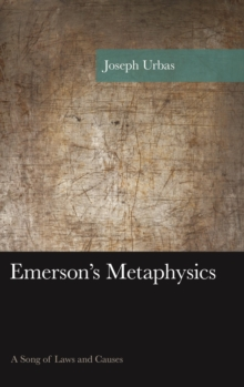 Emerson's Metaphysics : A Song of Laws and Causes, EPUB eBook
