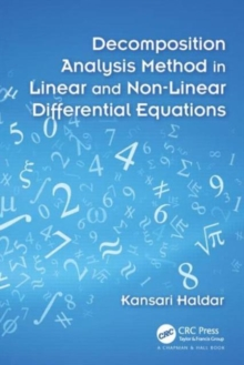 Decomposition Analysis Method in Linear and Nonlinear Differential Equations, Hardback Book