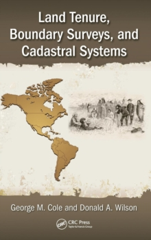 Land Tenure, Boundary Surveys, and Cadastral Systems, Hardback Book