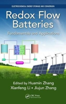 Redox Flow Batteries : Fundamentals and Applications, Hardback Book
